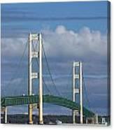 Big Mackinac Bridge 61 Canvas Print