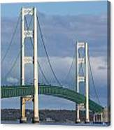 Big Mackinac Bridge 63 Canvas Print