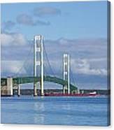 Big Mackinac Bridge 65 Canvas Print