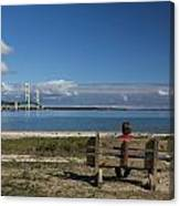 Big Mackinac Bridge 69 Canvas Print