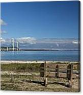 Big Mackinac Bridge 70 Canvas Print