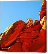 Big Orange Rock Canvas Print