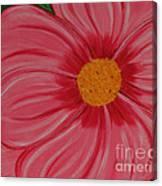 Big Pink Flower - Florist - Gardener Canvas Print