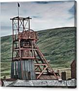 Big Pit Colliery Canvas Print
