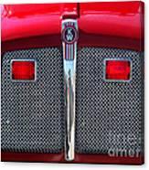 Big Red Fire Truck Canvas Print