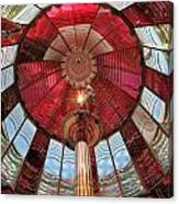 Big Red Fresnel Canvas Print