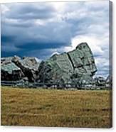 Big Rock 2 Canvas Print