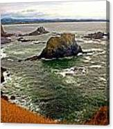Big Rock Beach Canvas Print