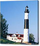 Big Sable Lighthouse Canvas Print