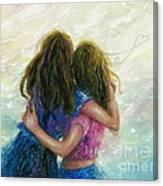 Big Sister Hug Canvas Print