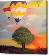 Big Sky Country Canvas Print
