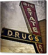 Big State Drugs Irving Canvas Print