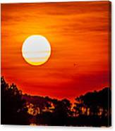 Big Sun Canvas Print