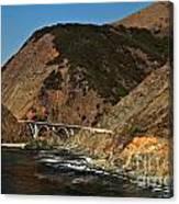Big Sur Bridge Canvas Print