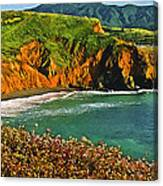 Big Sur California Coastline Canvas Print