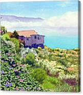 Big Sur Cottage Canvas Print