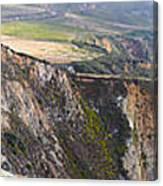 Big Sur Panorama Canvas Print