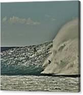 Big Surf Canvas Print