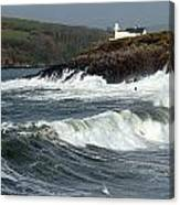 Big Swell In Dingle Bay Canvas Print