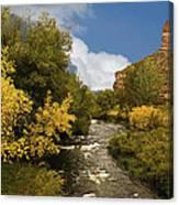 Big Thompson River 2 Canvas Print
