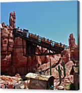 Big Thunder Mountain Walt Disney World Canvas Print