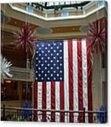 Big Usa Flag 1 Canvas Print