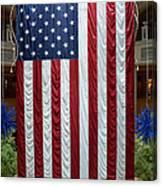 Big Usa Flag 2 Canvas Print