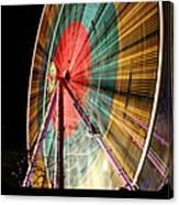 Big Wheel Edinburgh Canvas Print