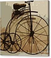 Big Wheel Trike Canvas Print