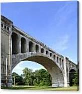 Big4 Bridge Canvas Print