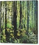 Bigfoot Sighting Canvas Print