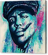 Biggie Smalls Modern Art Drawing Poster Canvas Print