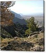 Bighorn Mountains-wy Canvas Print