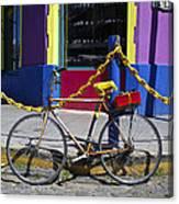 Bike La Boca Canvas Print
