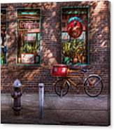 Bike - Ny - Chelsea - The Delivery Bike Canvas Print