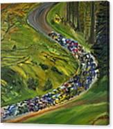 Bike Race Belgium Arden Spring Classics Canvas Print