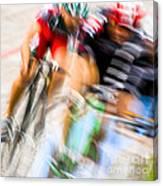 Bike Race I Canvas Print