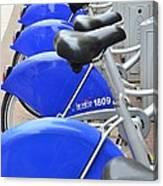 Bike Rental In Marseille Canvas Print