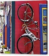 Bike Shop Canvas Print