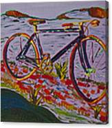 Bike Study Canvas Print