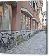 Bike Transportation Canvas Print