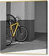 Bike With Frame Canvas Print