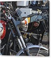 Old Motorbikes Canvas Print
