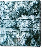 Bikesnowprint 2009 Canvas Print