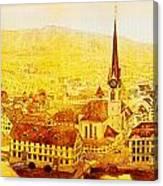Bild Fraumuenster Canvas Print