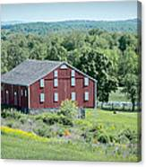 Bilgerville Road Farm  7d02271 Canvas Print
