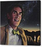 Bill Nye - A Candle In The Dark Canvas Print