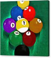Billiards Art - Your Break 1 Canvas Print
