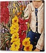 Billies Garden Canvas Print