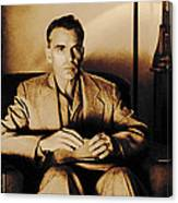 Billy Bob Thornton as Ed Crane in the film The Man Who Wasn t There Canvas Print